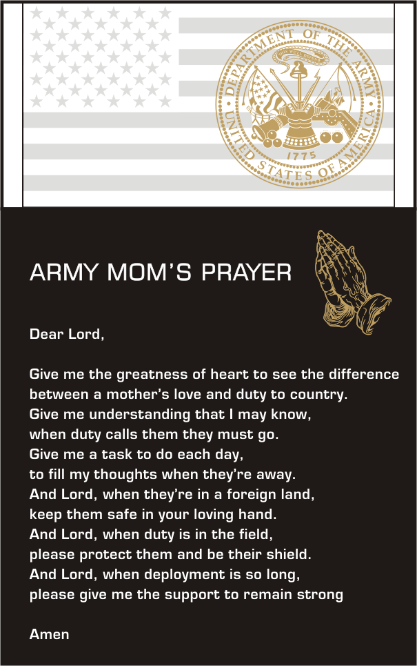 df15f103 Army Mom's Prayer...<3 | Proud Army Mom | Army mom quotes, Army, Mom ...