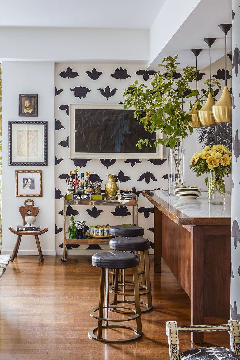 here's how to craft a classic black and white kitchen in