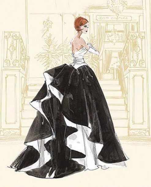 Barbie Calendar Sketch By Robert Best Fashion And Art