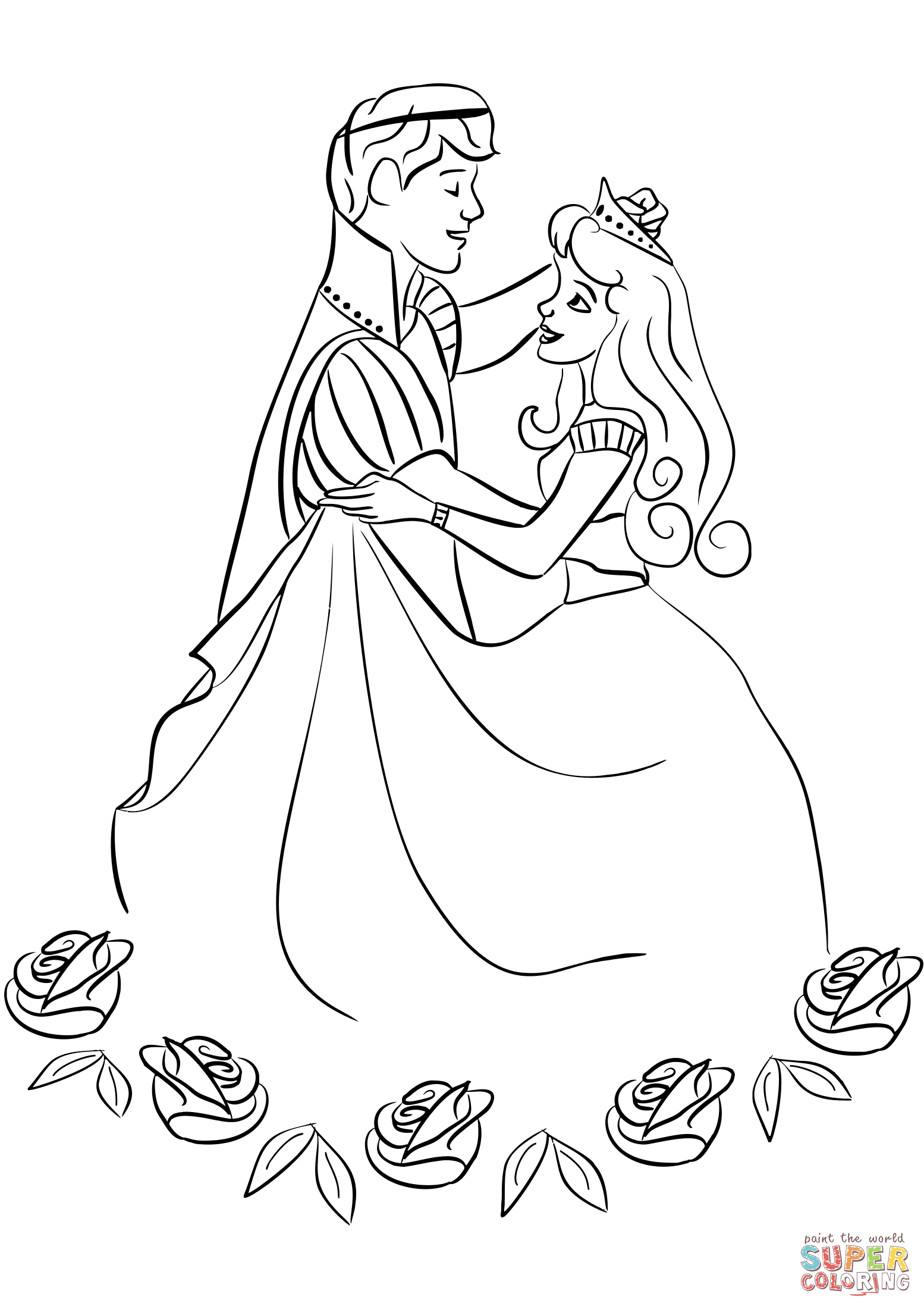 Princess Dancing Coloring Pages Princess Coloring Pages Disney Princess Coloring Pages Mermaid Coloring Pages