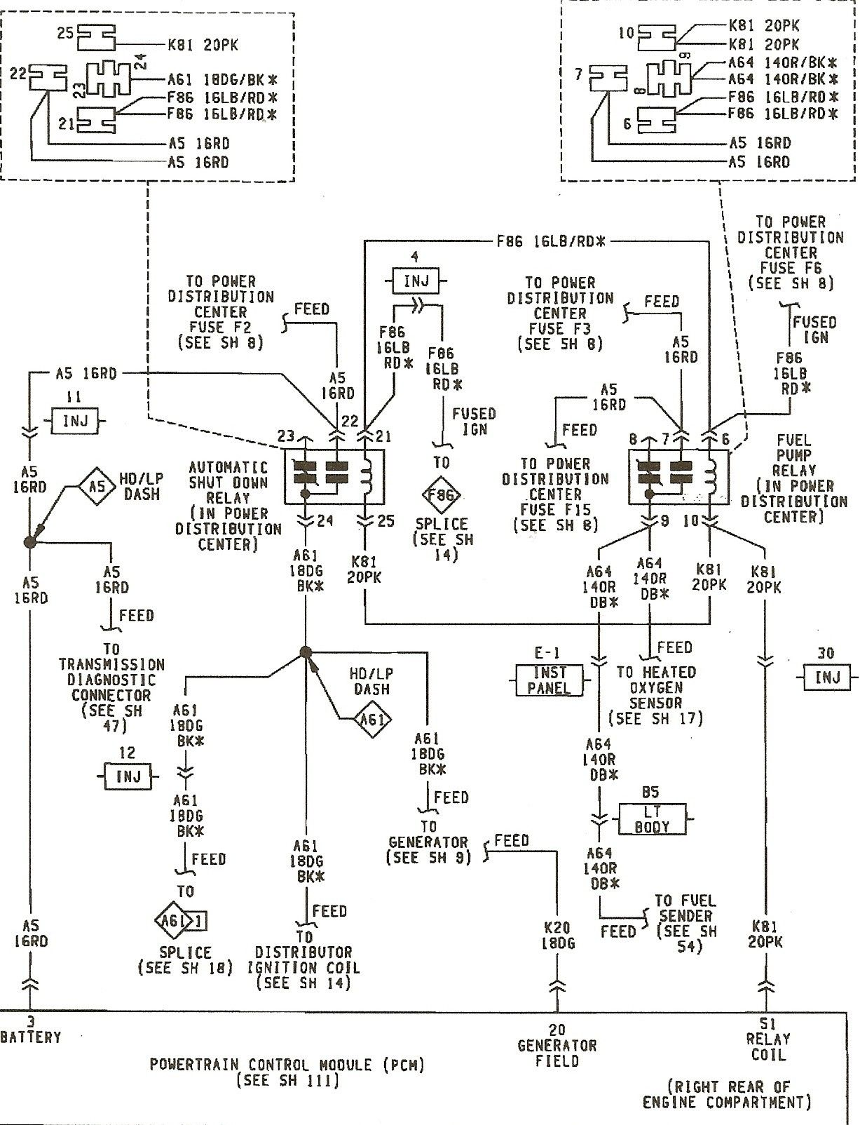 Stereo Wiring Diagram For 94 Jeep Cherokee