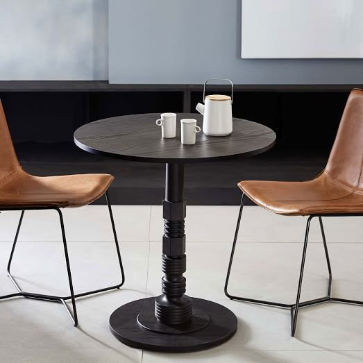 Dimensions Diam X H Adam Court Café Table West Elm - West elm cafe table