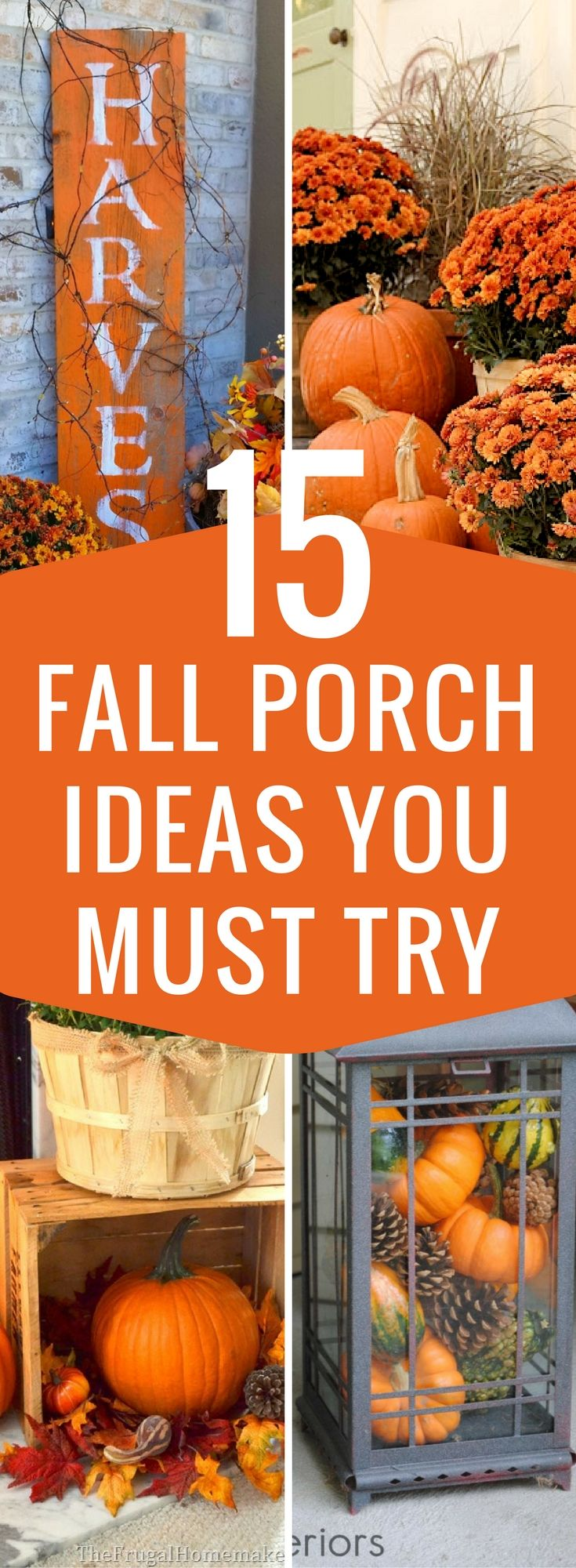 DIY Fall Crafts For Your Home And Yard | Ideas for Fall