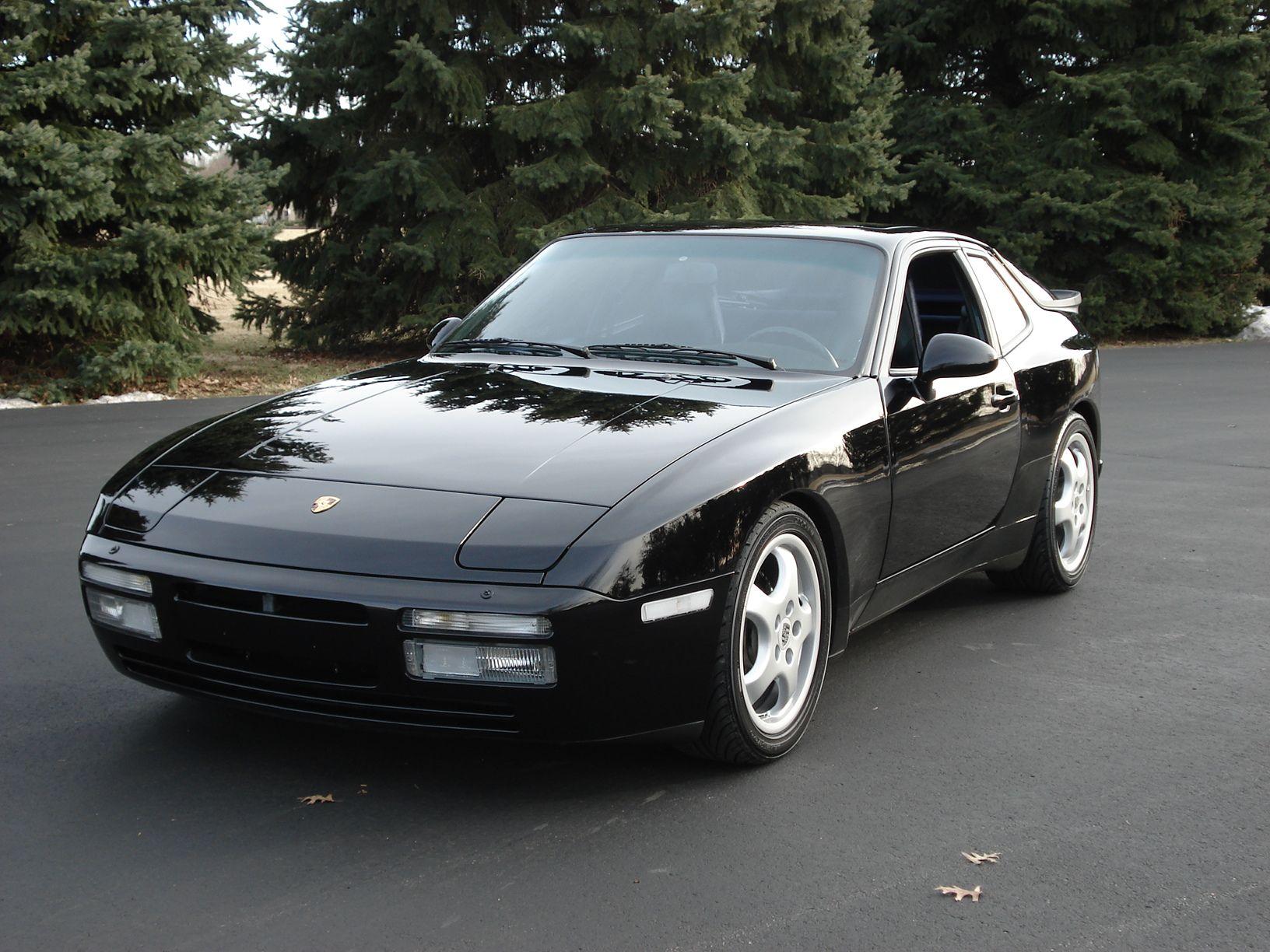1987 Black 944 Porsche 944 Black Porsche Porsche