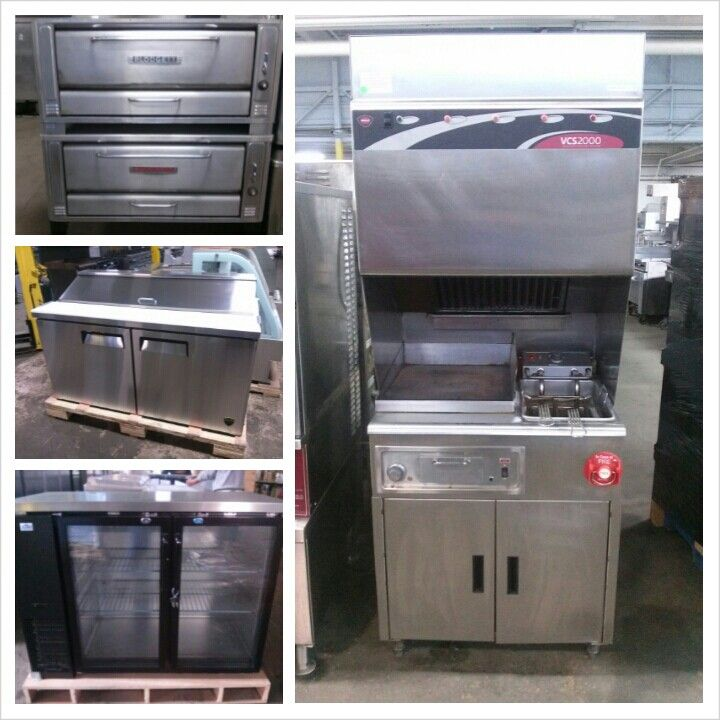 Industrial Kitchen Auctions: Restaurant Equipment Www.theauctiongenius.com Hoodless