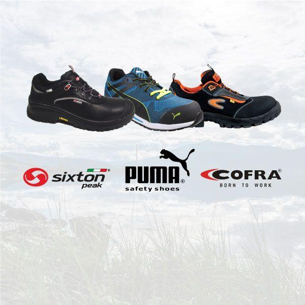 f538474c Sikre dine arbeidere med solide vernesko fra Sixton - Cofra eller Puma  Safety. Valg av