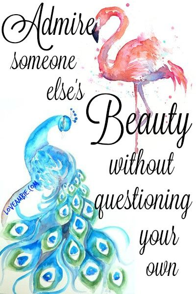 Be Your Own Kind Of Beautiful Inspirational Quotes Peacock