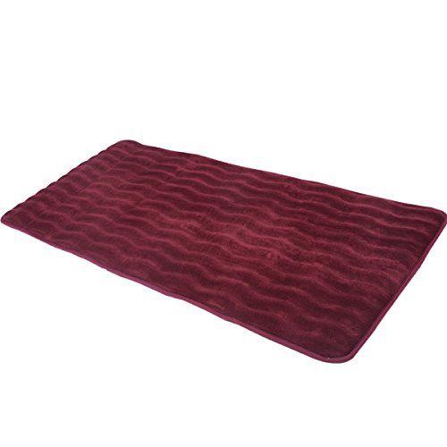 24 X 60 Non Slip Back Rug Soft Bathroom Carpet Memory Foam Bath
