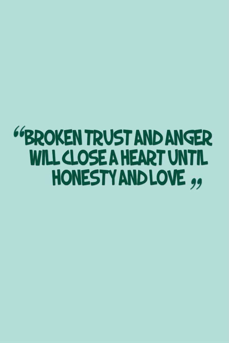 Broken Trust Quotes and Saying with Images | Broken Trust Quotes