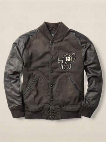ralph lauren double rl varsity jacket - Google Search