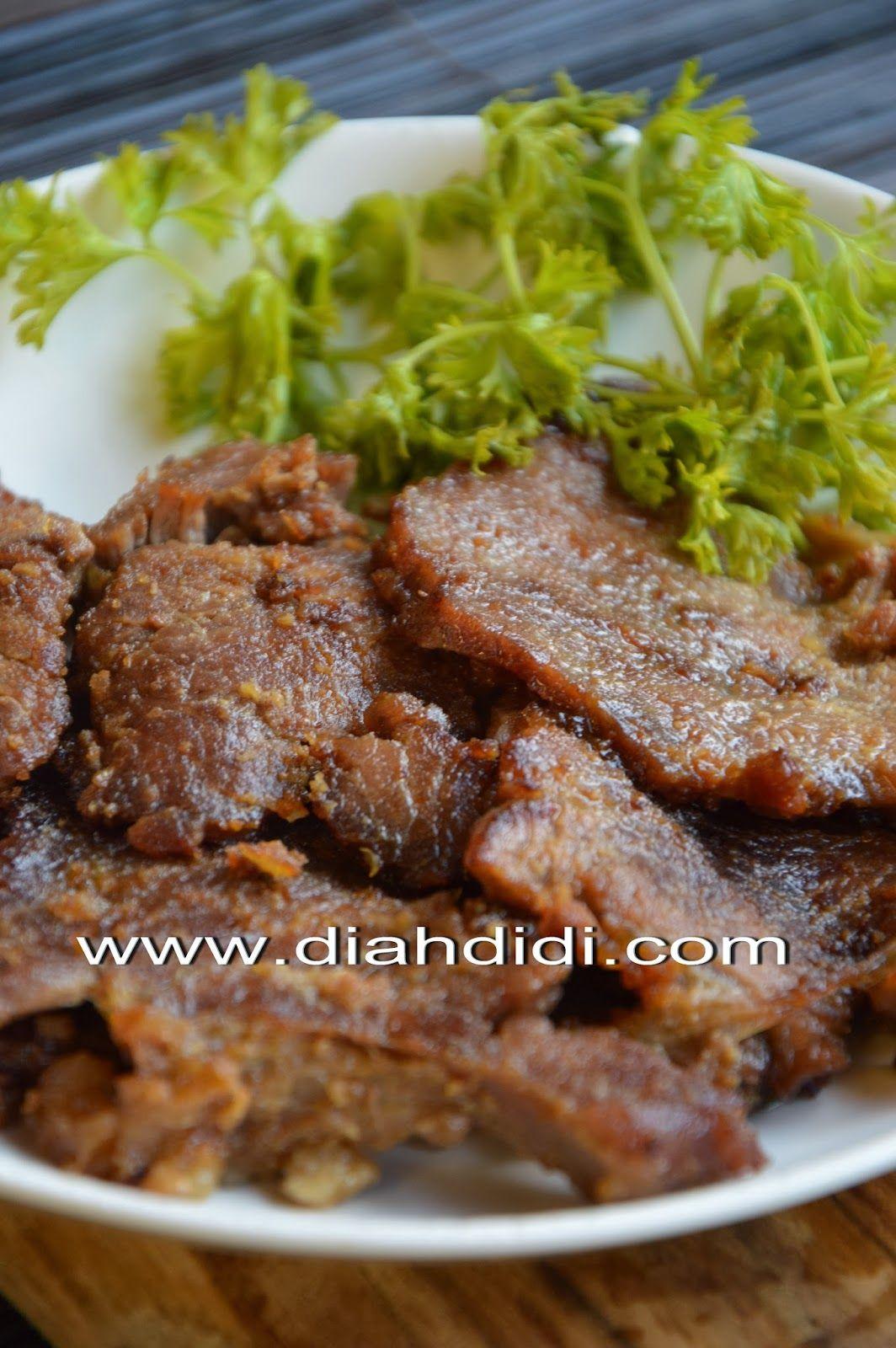 Diah Didi S Kitchen Empal Gepuk Resep Masakan Masakan Resep Makanan Asia