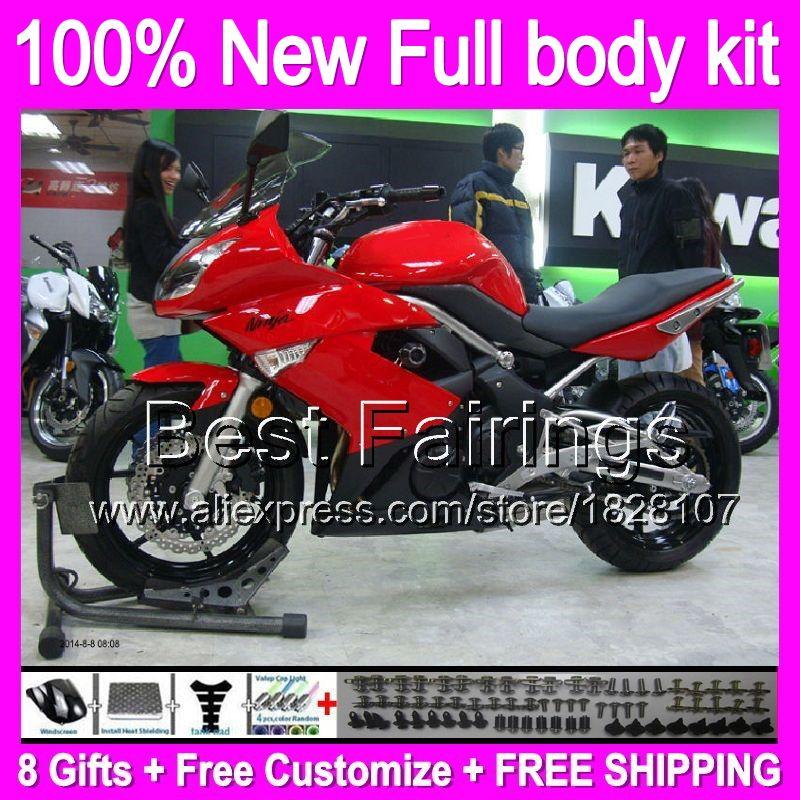 Kawasaki Zx 10R 06>07 (No CG) Huggers |Red Fox