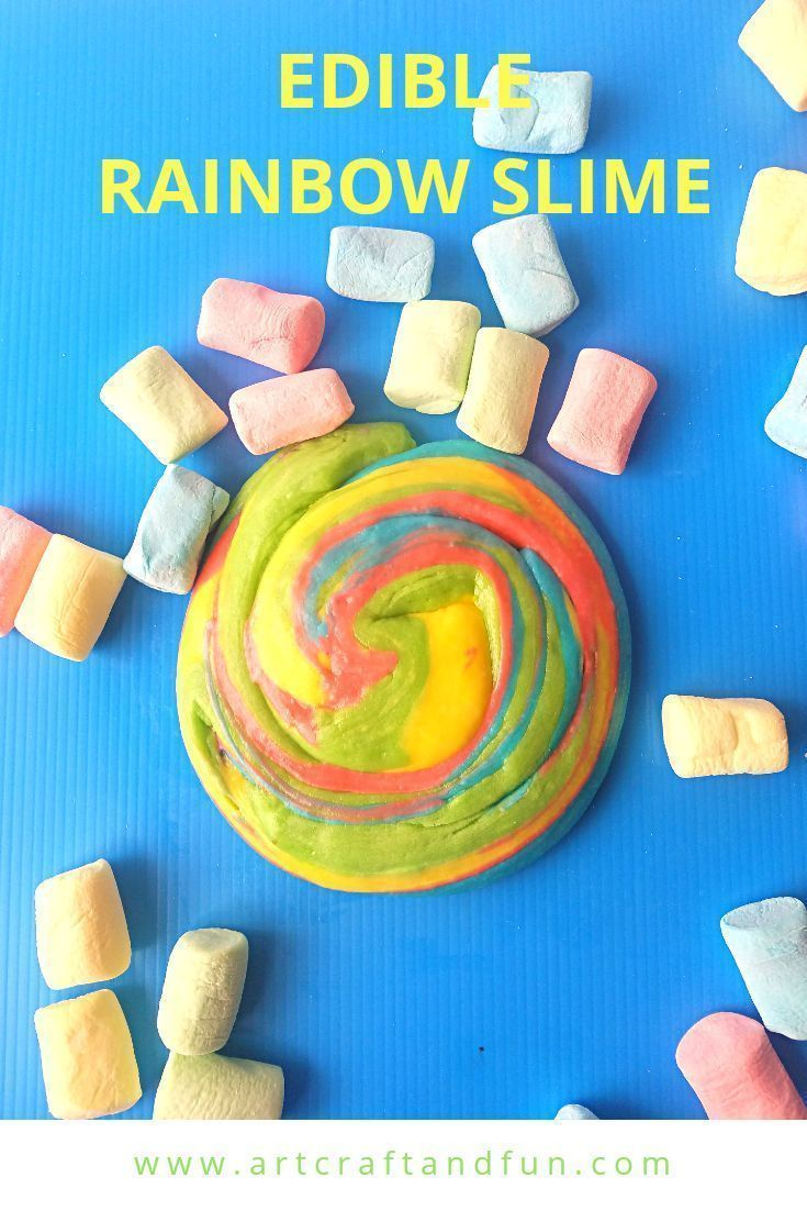 How To Make Rainbow Edible Slime Using Marshmallows #edibleslime Make Rainbow Edible Slime today. This easy edible slime recipe uses marshmallows. The colorful marshmallows give this slime its pretty Rainbow colors. Sure to be a favorite of everyone! #rainbowslime #edibleslime #slime #edibleslime How To Make Rainbow Edible Slime Using Marshmallows #edibleslime Make Rainbow Edible Slime today. This easy edible slime recipe uses marshmallows. The colorful marshmallows give this slime its pretty Ra #edibleslime