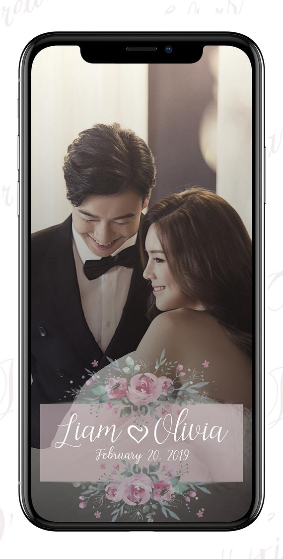 Snapchat geofilter floral Wedding snapchat filter snapchat filter flowers Wedding snapchat geofilter Snapchat filter wedding