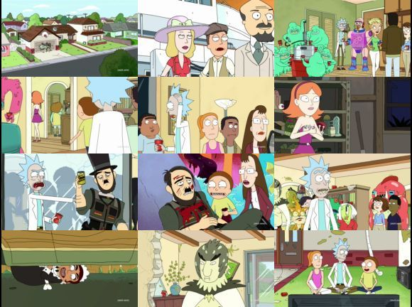 Energian Saasto—These Rick And Morty Season 1 Episode 1
