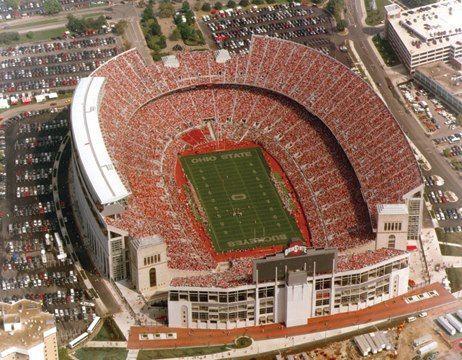 Buckeye Stadium Ohio Stadium Ohio State Buckeyes Football Ohio State