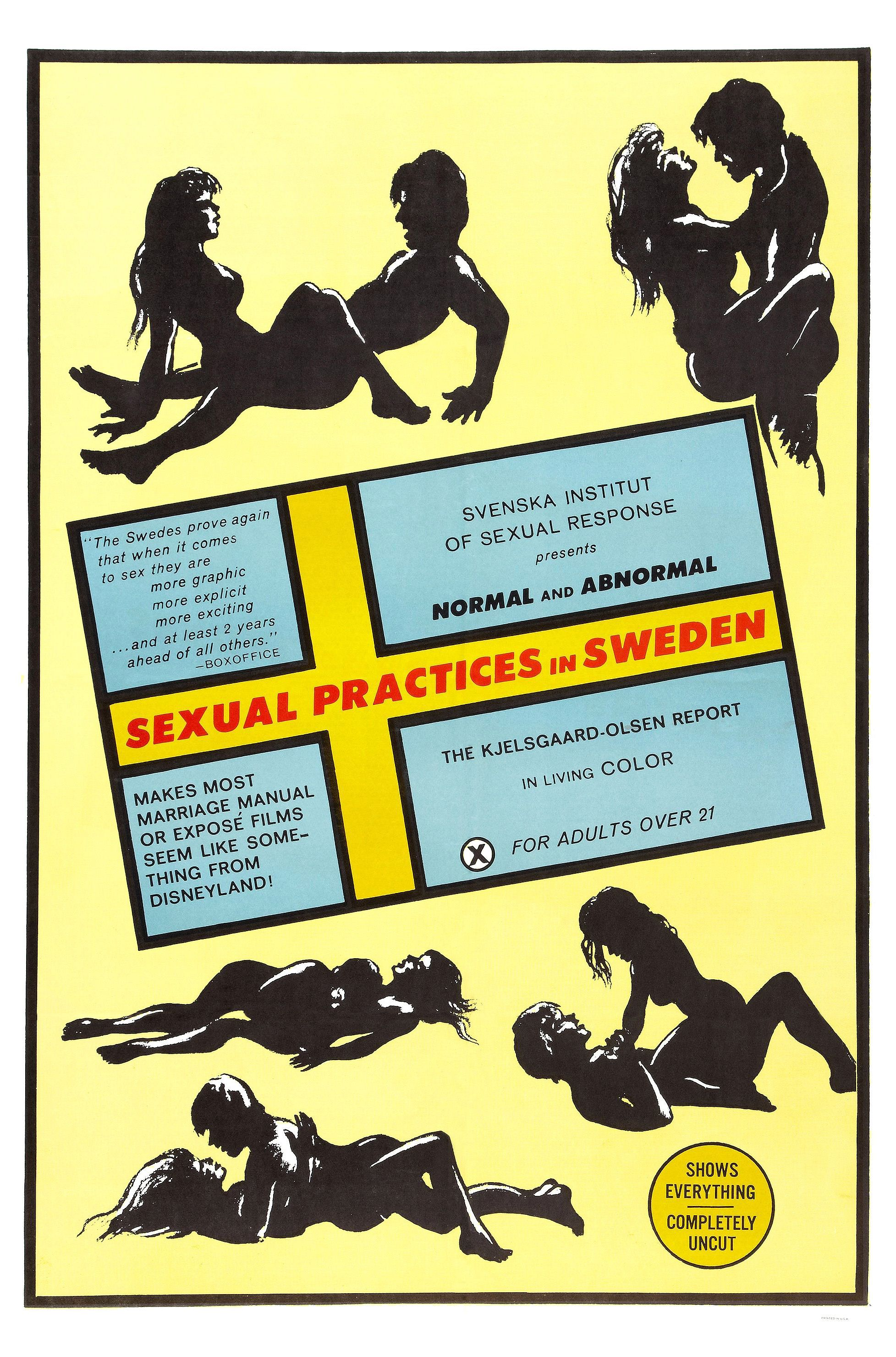 Sexual Practices in Sweden (1970, USA) | Posters/Prints | Pinterest ...