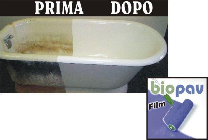 Biopav rinnovare pitturare vasca da bagno materials pinterest - Rinnovare vasca da bagno ...
