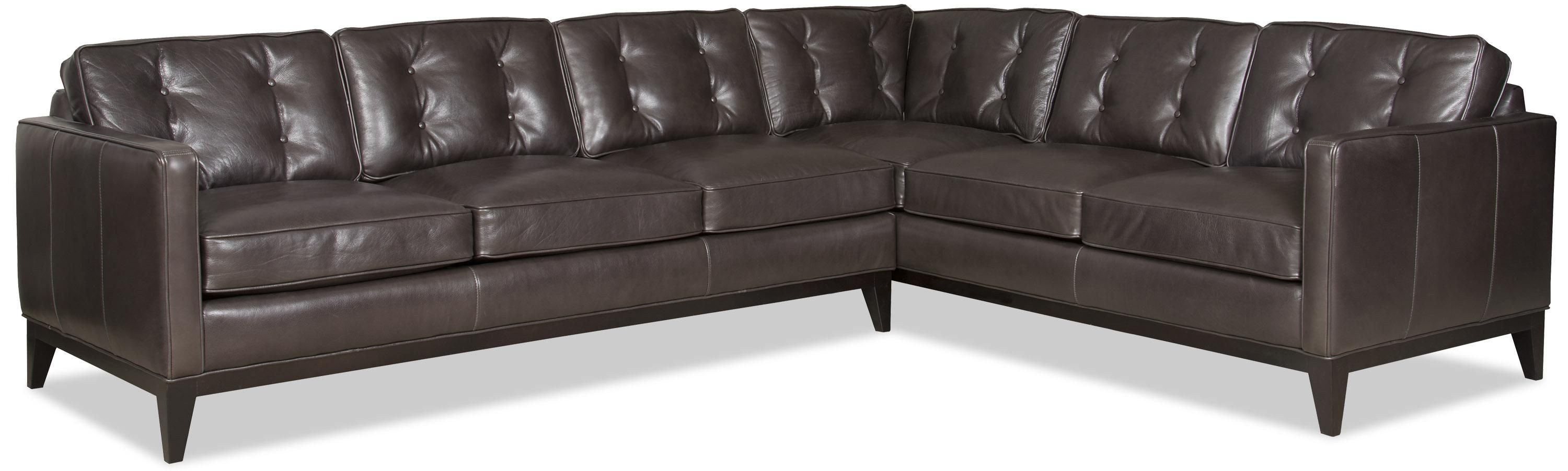 Incredible Zev Two Piece Sectional Sofa By Bradington Young Ideas For Andrewgaddart Wooden Chair Designs For Living Room Andrewgaddartcom