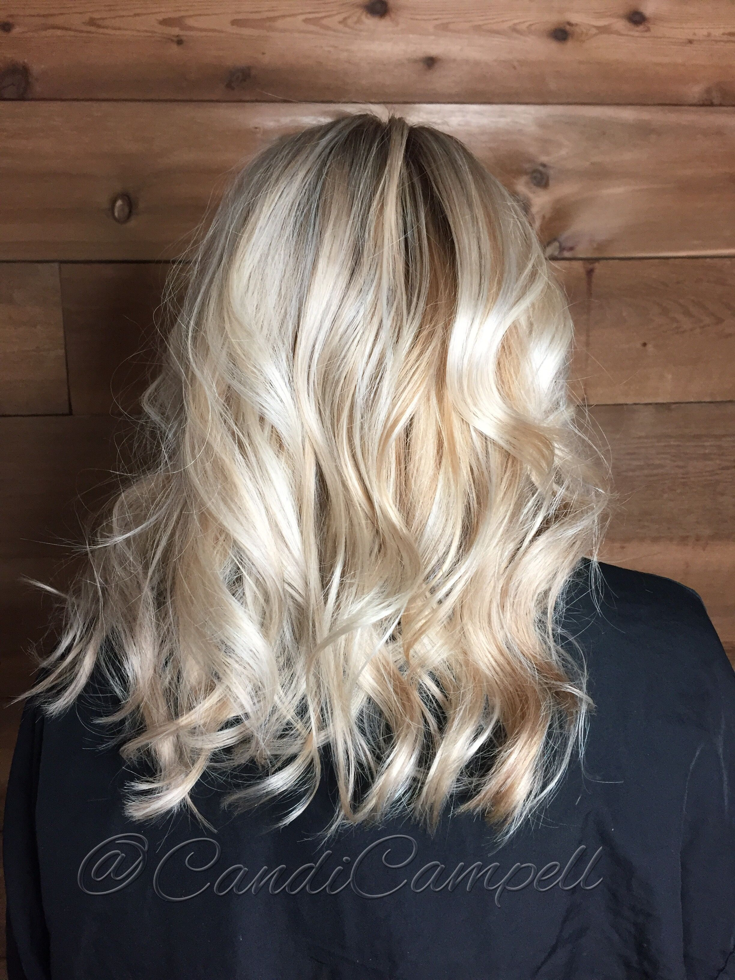 Beautiful Blonde With Dimension Base Color