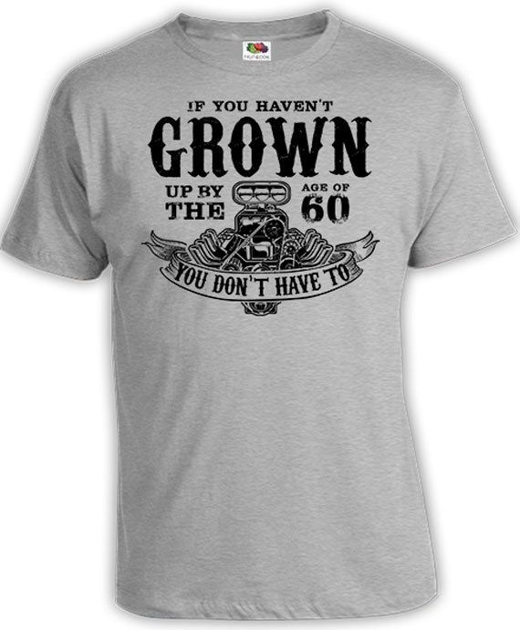 0bfb5451bf6 60th Birthday Shirt 60th Birthday Gift Ideas Funny Birthday T Shirt Custom  Age If You Haven t Grown