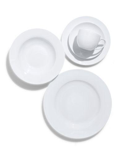 Brands Dinnerware Amp Serveware Prescott White Rim Collection 20 Piece Bone China Dinnerware China Dinnerware Sets Dinnerware Set Bone China Dinnerware