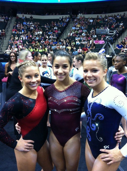 Shawn Johnson, Aly Rai...