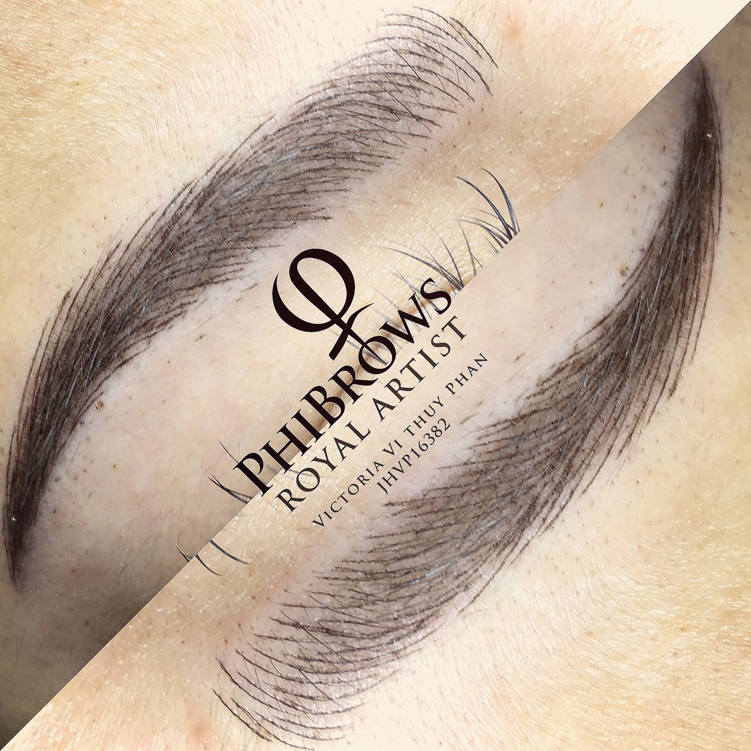 Pin By Thuyvi Phibrows Phan On Victoria Brows Microblading