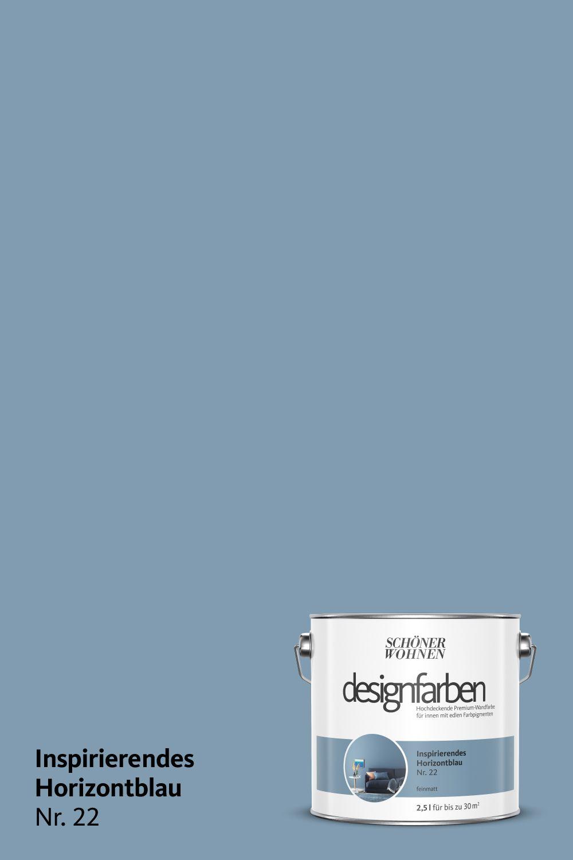 Designfarbe Inspirierendes Horizontblau Nr 22 Schoner Wohnen Farbe Wohnen Schoner Wohnen