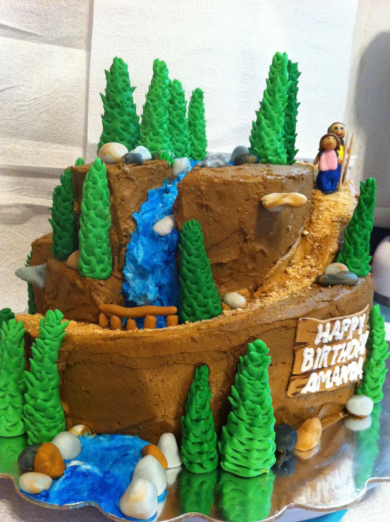 Hiking Cake Delicious Cake Pastry Cake Camping Cakes