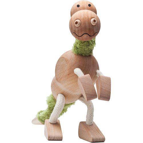 Tyrannosaurus Rex, wood, posable, non-toxic glues, 100% adorable