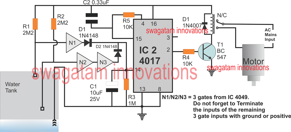5 Simple Water Level Controller Circuits En 2020