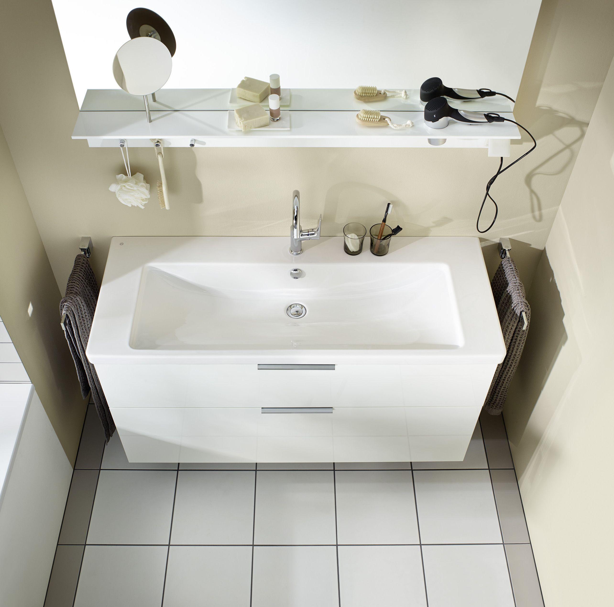Burgbad Eqio Keramik Waschtisch Inklusive Waschtischunterschrank Seyq123 Breite 1230 Mm Badezimmer Ablage Waschtischunterschrank Waschtisch