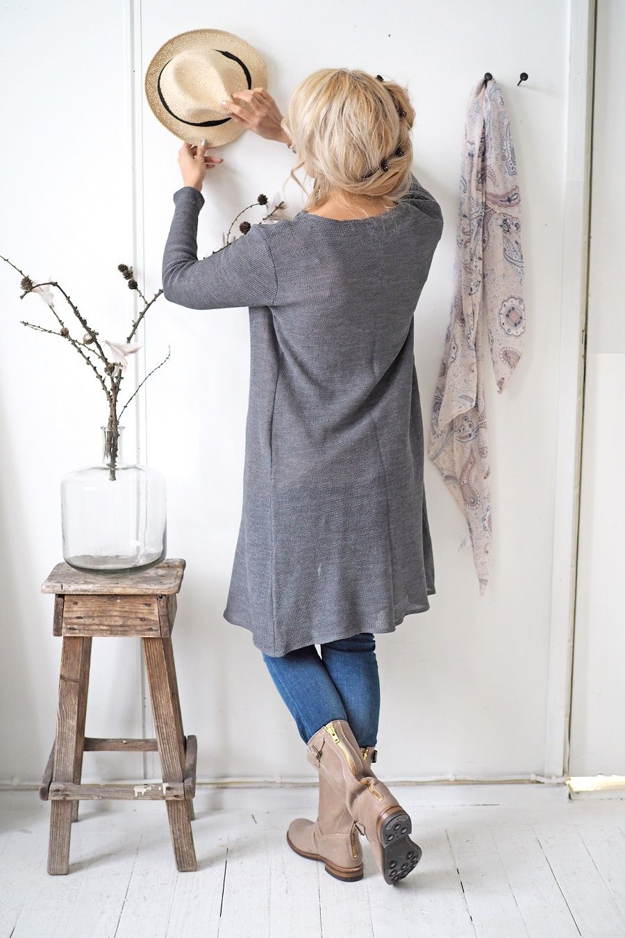 BYPIAS Knitted linen cardigan / @bypiaslifestyle www.bypias.com