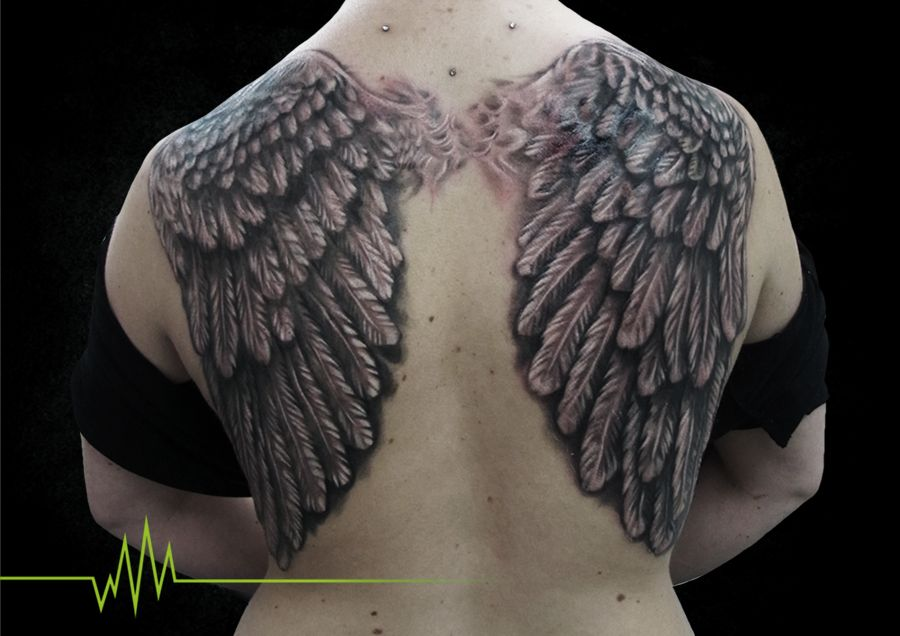 Artist: Daniel martorana Description: Wings, b&g Placements: Back