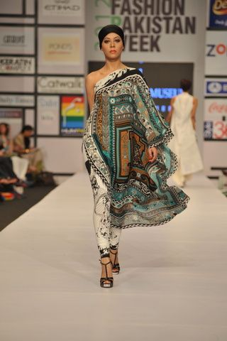 Love The Use Of Pattern And Of Course The Chiffon From Iman Ahmed Fashion Couture Outfits