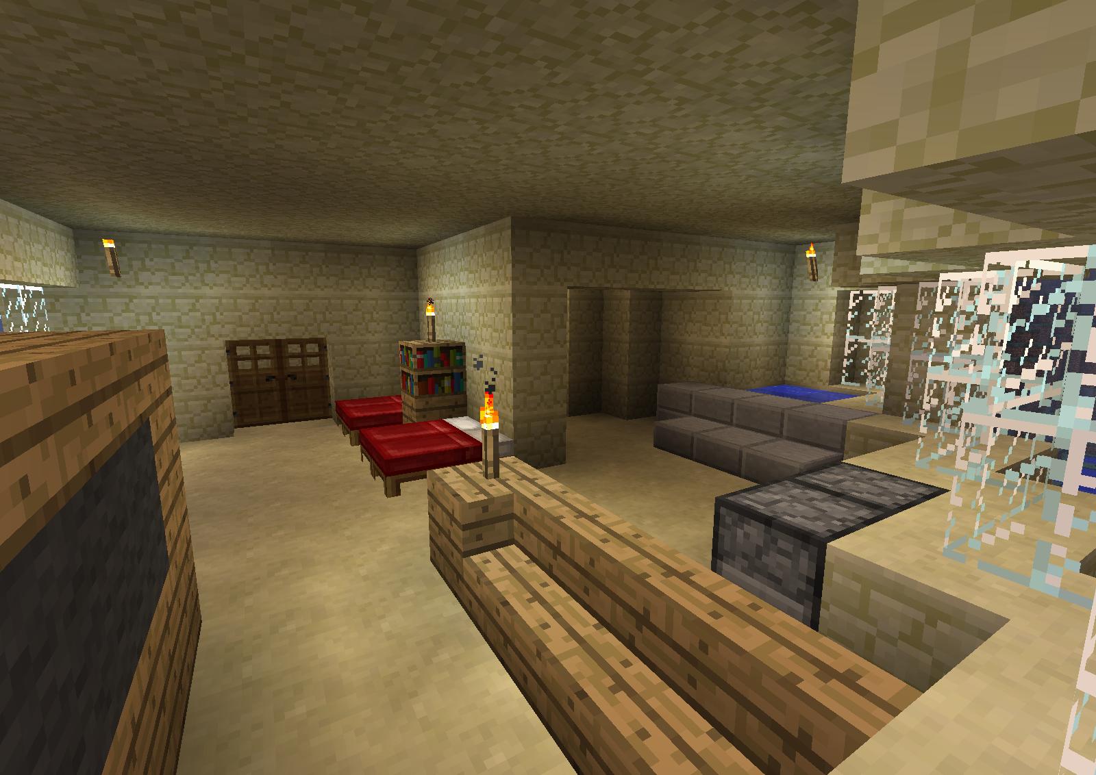 Minecraft Hotel Room 2