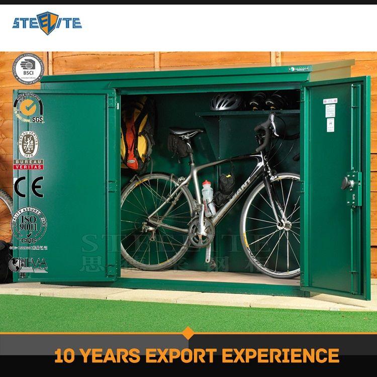 Professional Exporting Steel Furniture Bicycle Locker Bike