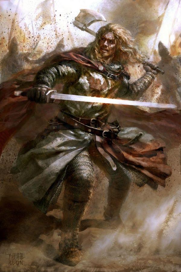 axe and blade