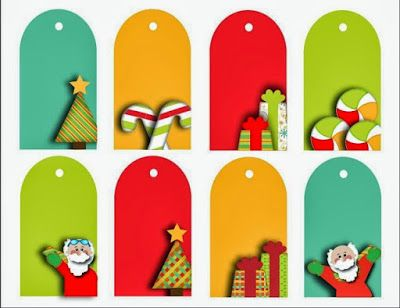 Tarjetitas para regalos navide os manualidades navide as for Manualidades souvenirs navidenos
