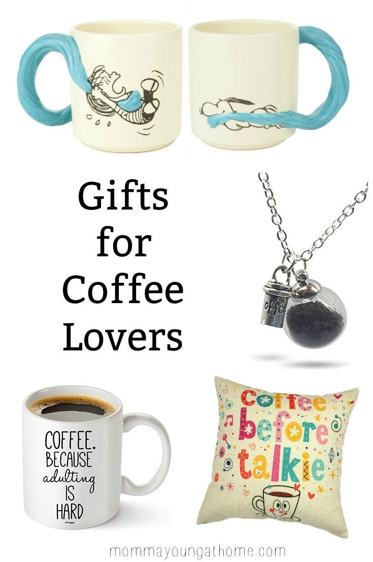 Gifts for Coffee Lovers via @AnjanetteMYoung   Coffee   Pinterest ...