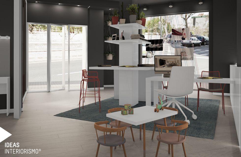 Proyecto De Interiorismo Del Estudio De Fotografía De Wom En Valencia Por  El Equipo De Ideas Interiorismo. Proyecto Interiorismo Estudio Fotografiau2026