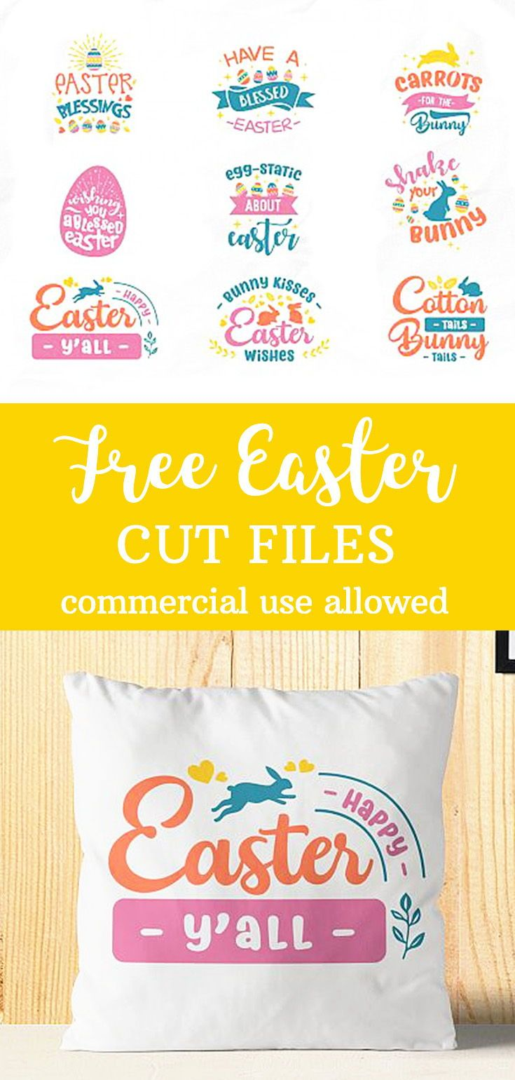 Download FREE FOR A LIMITED TIME! Easter SVG Bundle with 12 cut ...