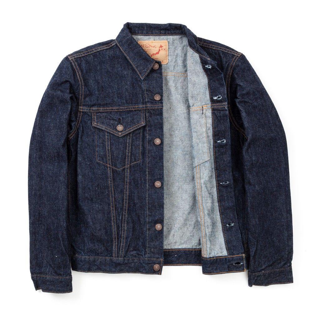 orSlow One Wash Denim Jacket - Indigo - ORSLOW - BRANDS - Superdenim