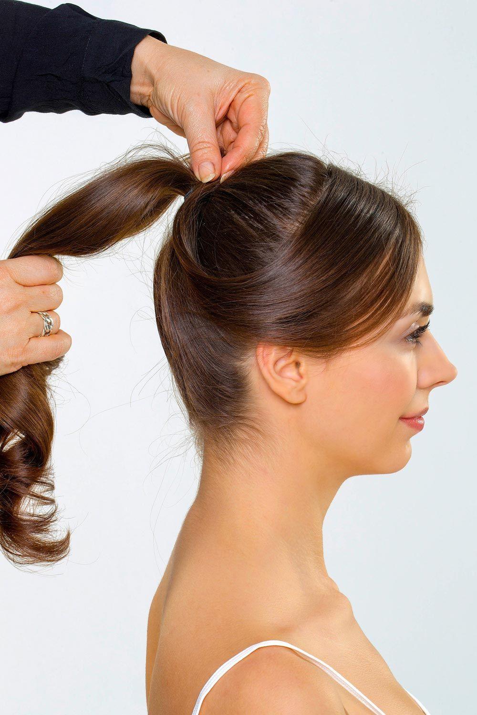 Audrey Hepburn Frisur Style 2 Anleitung 3 Langere Seite Im