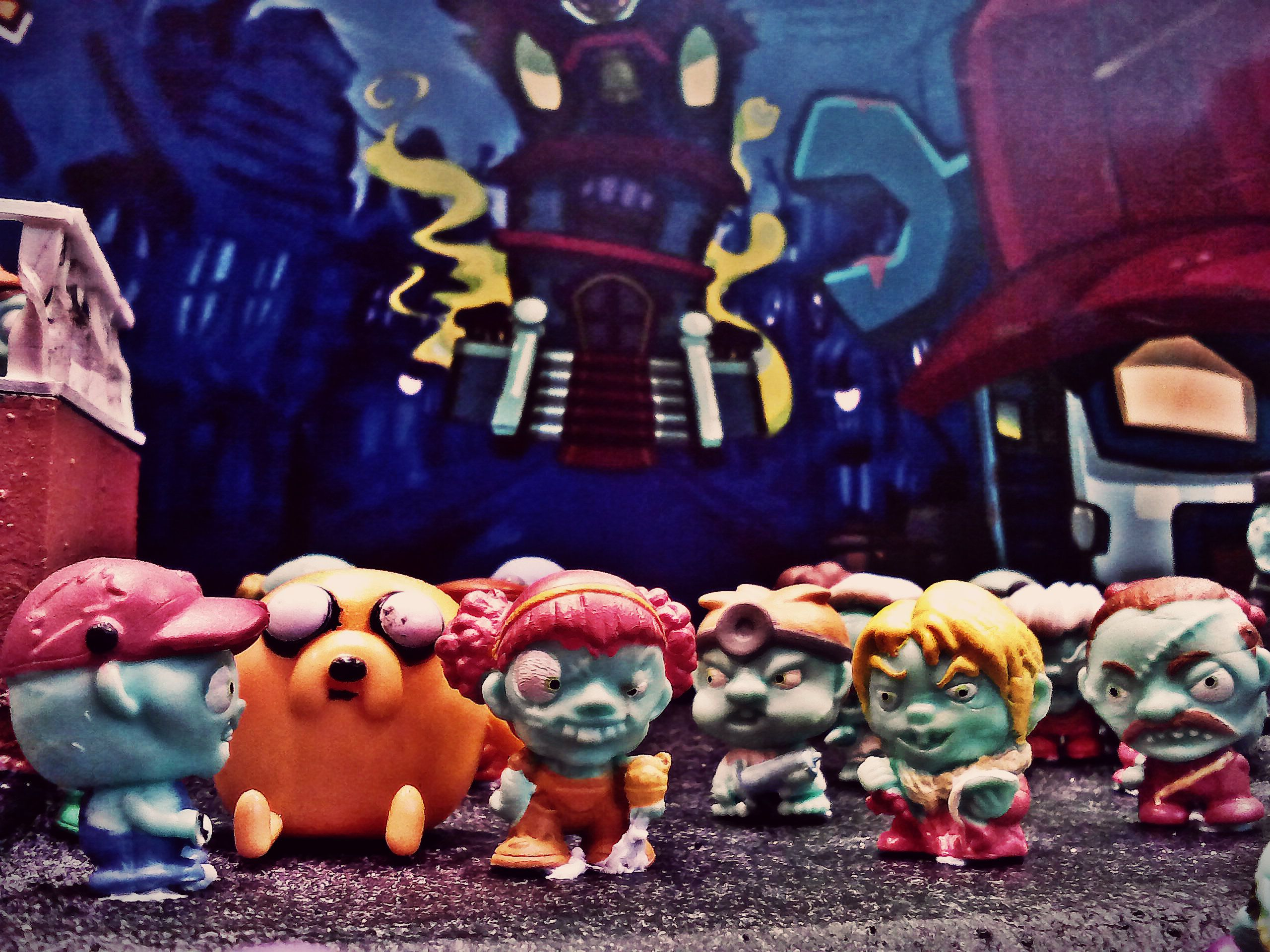 Adventure Time Toy Jake and zombies