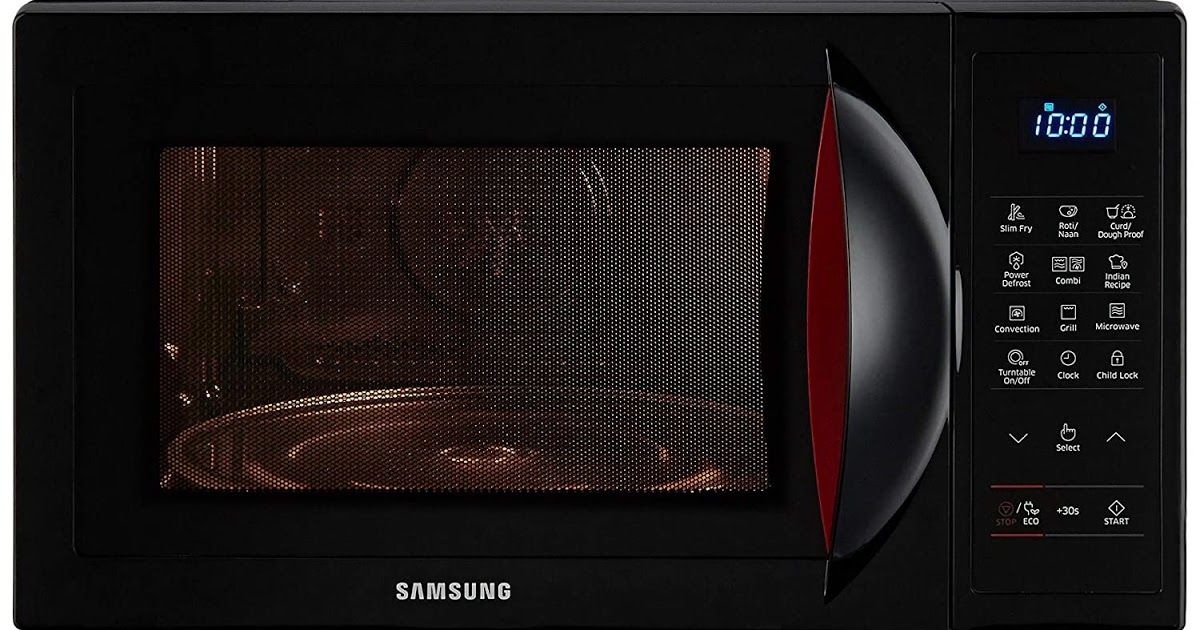 samsung convection microwave oven has a