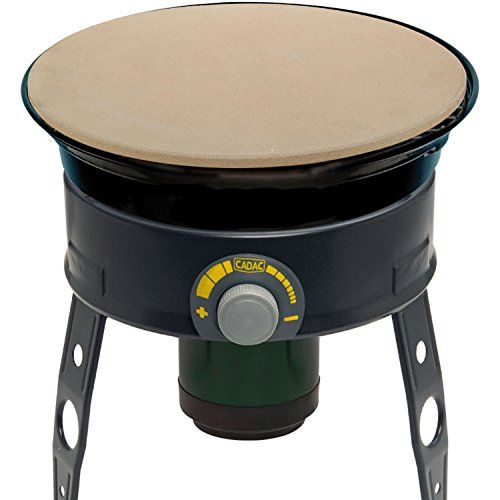 Cadac 50256544100kit Safari Chef Tailgate Grill Pizza Stone Check This Out By Going To The Link At The Im Grilled Pizza Stone Pizza Stone