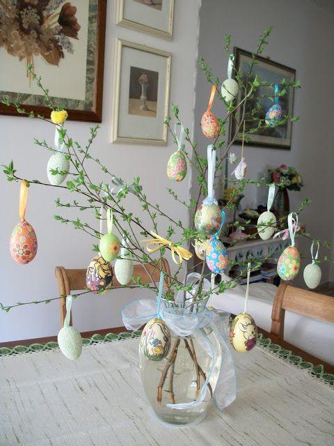 Ilprofumodelcalicanto l 39 albero di pasqua ed altro ancora idee per la casa pinterest - Albero di pasqua idee ...