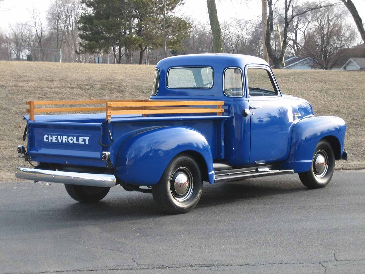 Chevy 3100 Pick-Up Truck | Pickups Panels & Vans (Original ...